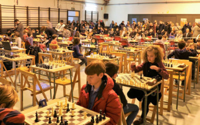 Els escacs arriben a la cinquena jornada de la temporada