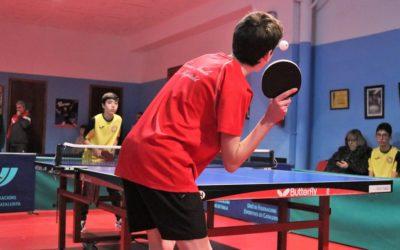 Última jornada dels Jocs Escolars de tennis taula