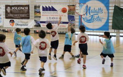 El Consell Esportiu aposta per un nou format: trobada d'escoletes de bàsquet
