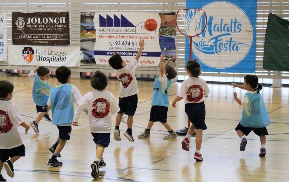 Trobada de cloenda d'escoles de bàsquet