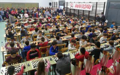 Més de 140 participants en els Jocs Escolars 2018/2019 d'escacs