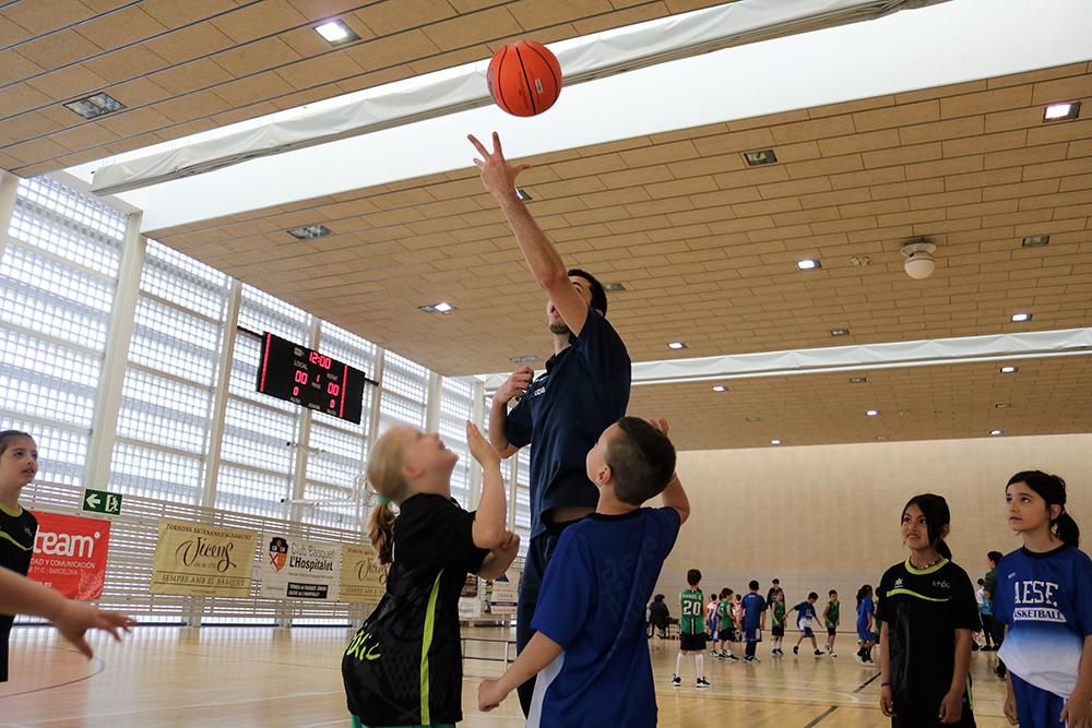 Les trobades d'escoles de bàsquet debuten aquest cap de setmana