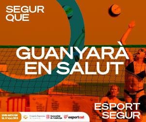 Els Consells Esportius de Catalunya defensen que fer esport és segur i necessari