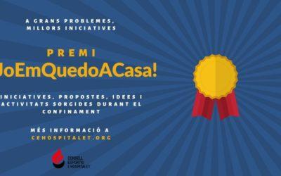 Premi #JoEmQuedoACasa!