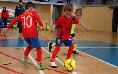 La primera trobada de mini futbol sala, el més destacat